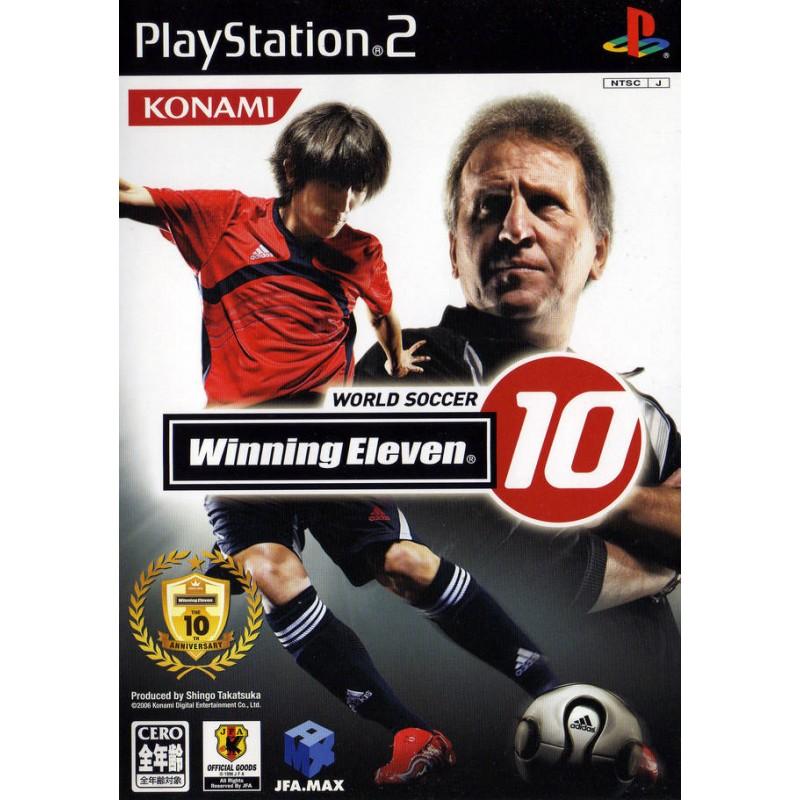 PS2 WINNING ELEVEN 10 (IMPORT JAP) - Jeux PS2 au prix de 1,95€