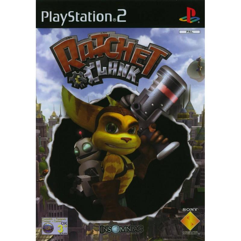 PS2 RATCHET ET CLANK - Jeux PS2 au prix de 6,95€