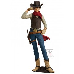 FIGURINE ONE PIECE MONKEY D. LUFFY TREASURE CRUISE WORLD (BANPRESTO) - Figurines au prix de 34,95 €