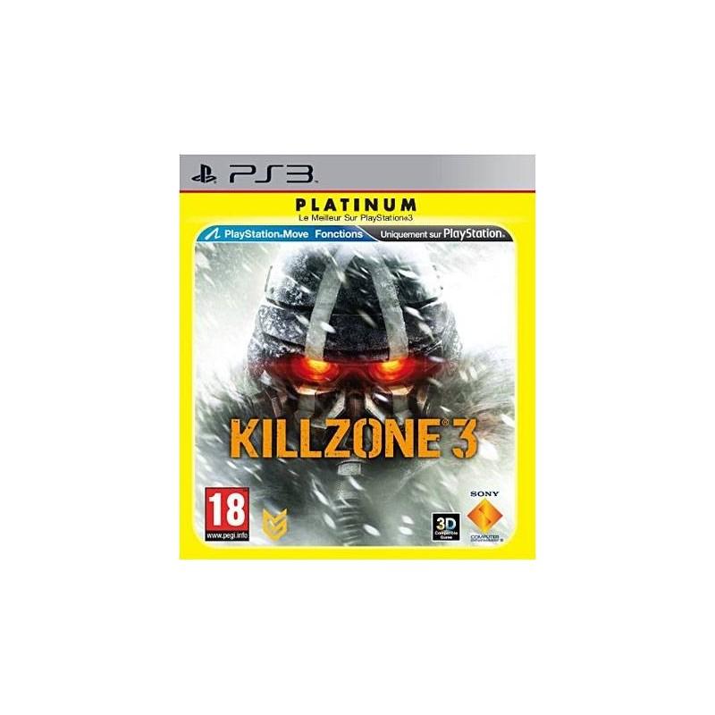 PS3 KILLZONE 3 (PLATINUM) - Jeux PS3 au prix de 4,95€