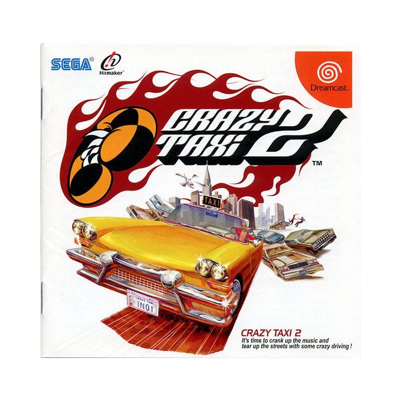 DC CRAZY TAXI 2 (NEUF BLISTER IMPORT JAP) - Jeux Dreamcast au prix de 39,95€