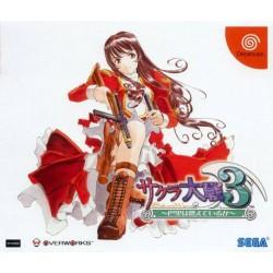 DC SAKURA TAISEN 3 (IMPORT JAP) - Jeux Dreamcast au prix de 8,95€