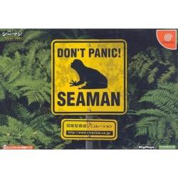 DC DON T PANIC! SEAMAN (IMPORT JAP) - Jeux Dreamcast au prix de 39,95€
