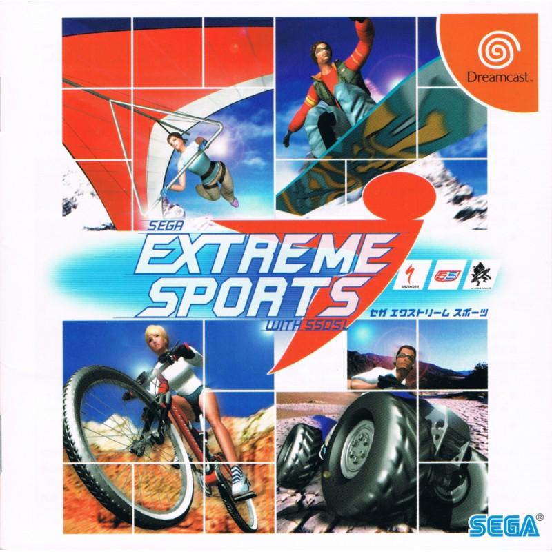 DC SEGA EXTREME SPORTS (IMPORT JAP) - Jeux Dreamcast au prix de 9,95€