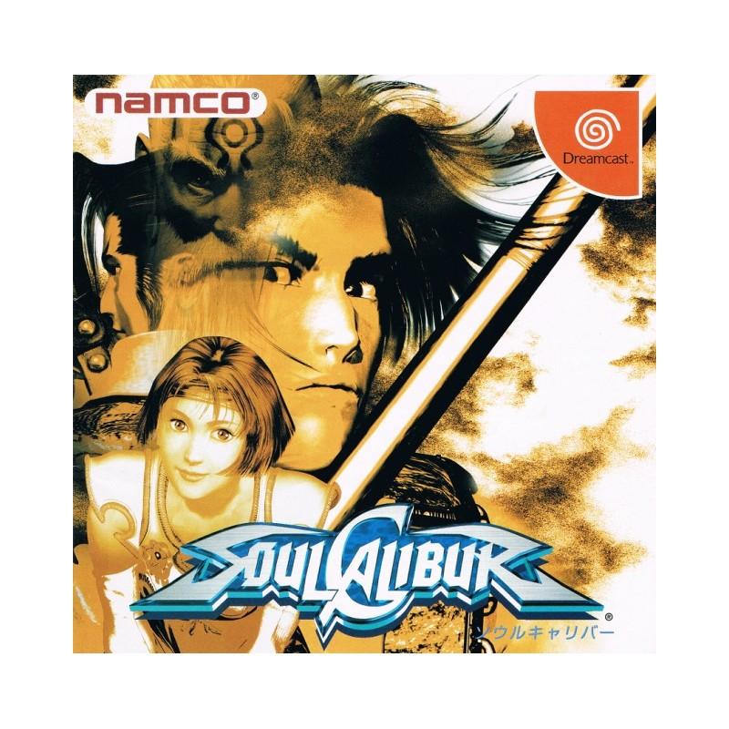 DC SOULCALIBUR (IMPORT JAP) - Jeux Dreamcast au prix de 9,95€