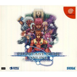 DC PHANTASY STAR ONLINE LIMITED EDITION (IMPORT JAP) - Jeux Dreamcast au prix de 9,95 €
