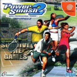 DC POWER SMASH 2 SEGA PROFESSIONAL TENNIS (IMPORT JAP) - Jeux Dreamcast au prix de 9,95€