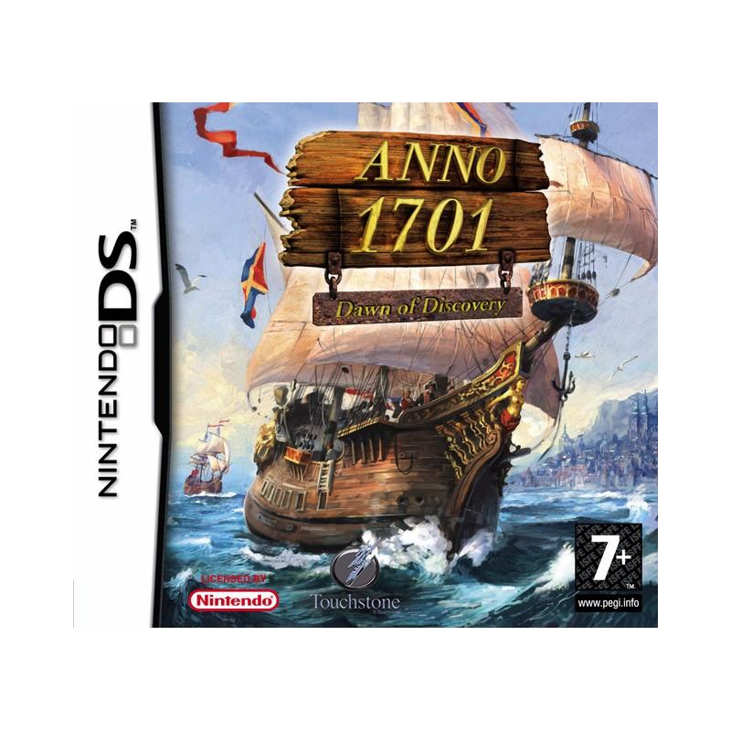 DS ANNO 1701 DAWN OF DISCOVERY - Jeux DS au prix de 9,95€