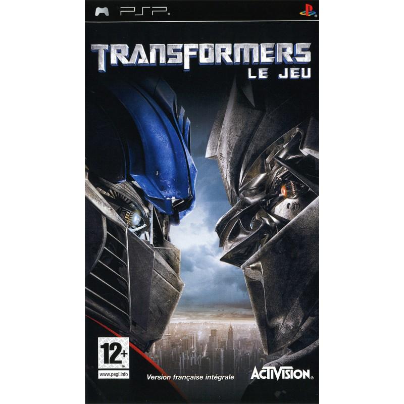 PSP TRANSFORMERS LE JEU - Jeux PSP au prix de 4,95€