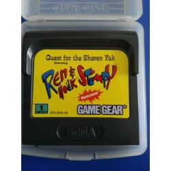 GG REN AND STIMPY QUEST FOR THE SHAVEN YAK (LOOSE) - Game Gear au prix de 6,95 €