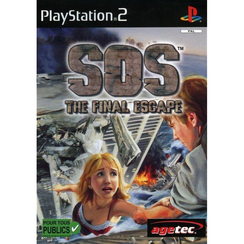 PS2 SOS THE FINAL ESCAPE - Jeux PS2 au prix de 9,95€
