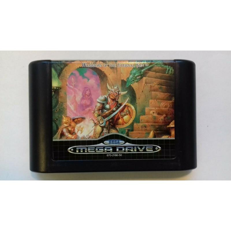 MD DUNGEONS ET DRAGONS WARRIORS OF THE ETERNAL SUN (LOOSE) - Jeux Mega Drive au prix de 9,95€