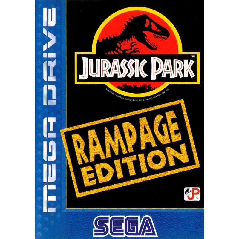 MD JURASSIC PARK RAMPAGE EDITION (SANS NOTICE) - Jeux Mega Drive au prix de 14,95€