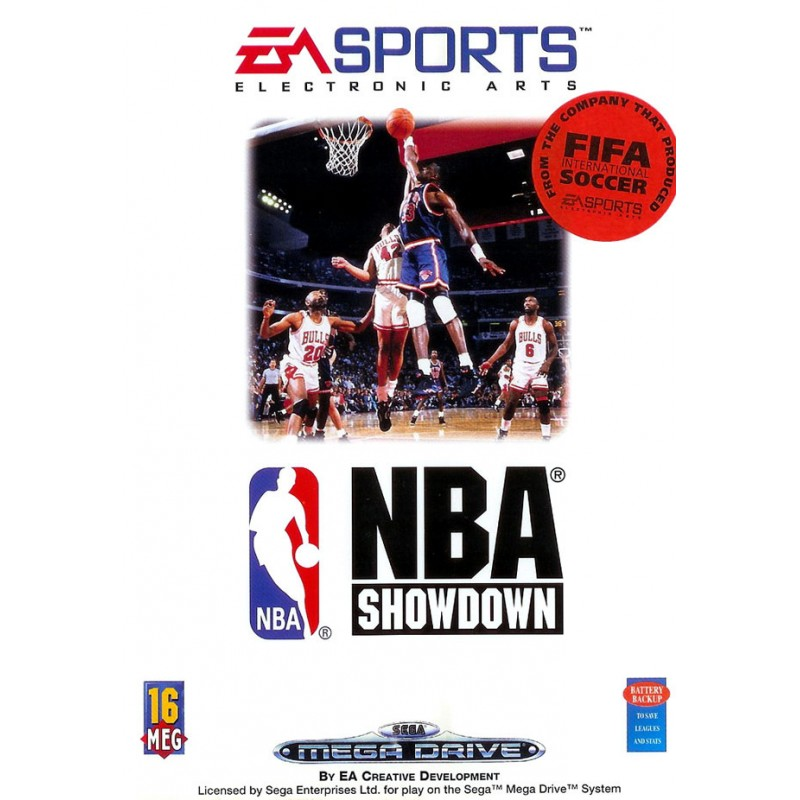MD NBA SHOWDOWN (SANS NOTICE) - Jeux Mega Drive au prix de 6,95€