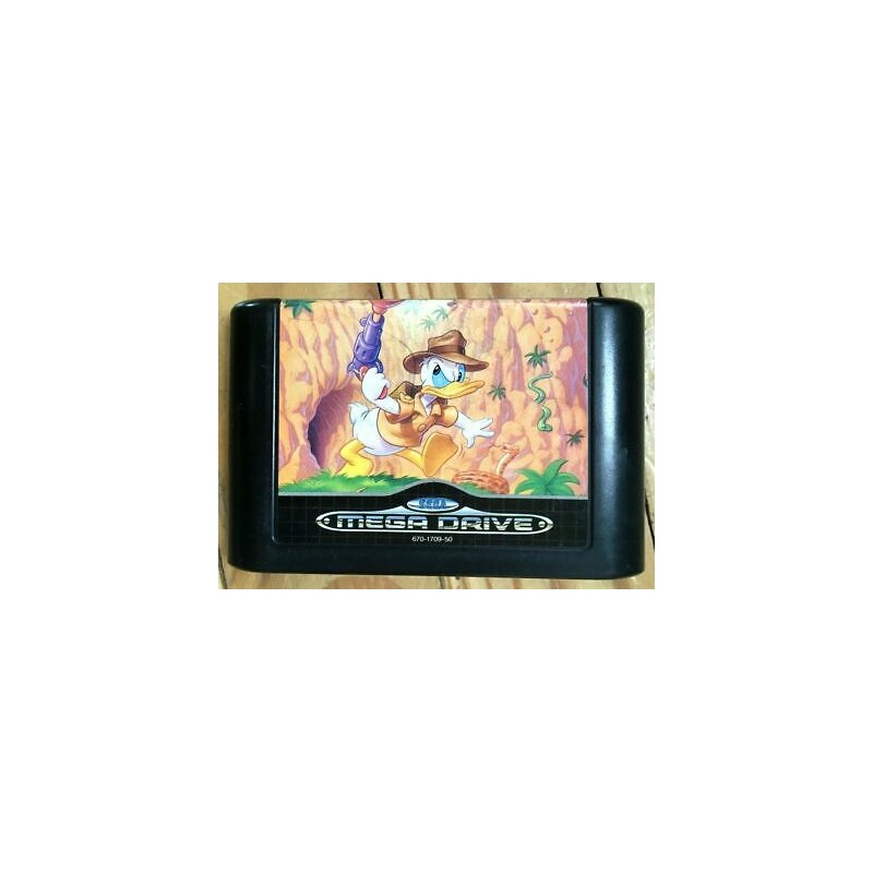 MD QUACKSHOT STARRING DONALD DUCK (LOOSE) - Jeux Mega Drive au prix de 9,95€