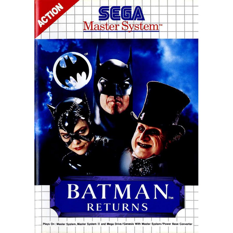 MS BATMAN RETURNS (SANS NOTICE) - Jeux Master System au prix de 6,95 €