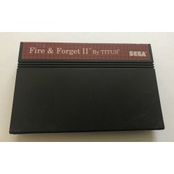 MS FIRE AND FORGET 2 (LOOSE) - Jeux Master System au prix de 9,95 €