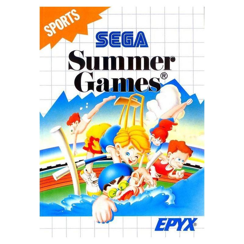 MS SUMMER GAMES - Jeux Master System au prix de 12,95€