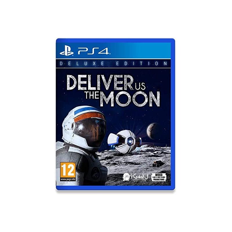 PS4 DELIVER US THE MOON - Jeux PS4 au prix de 29,95€