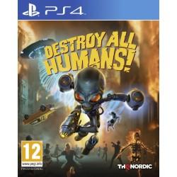 PS4 DESTROY ALL HUMAINS ! - Jeux PS4 au prix de 39,95€