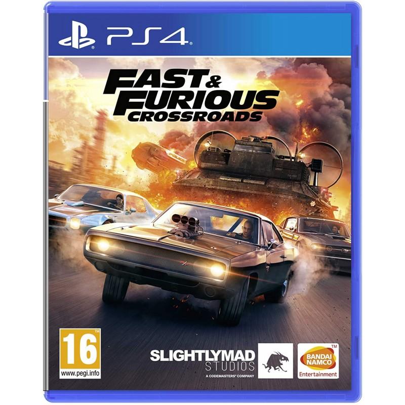 PS4 FAST AND FURIOUS CROSSROADS - Jeux PS4 au prix de 59,95€