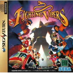 SAT FIGHTING VIPERS (IMPORT JAP + SPINECARD) - Jeux Saturn au prix de 9,95€