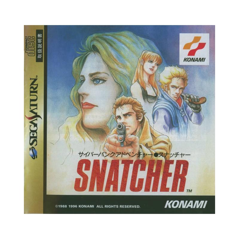 SAT SNATCHER (IMPORT JAP) - Jeux Saturn au prix de 19,95€
