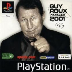 PSX GUY ROUX MANAGER 2001 - Jeux PS1 au prix de 2,95€