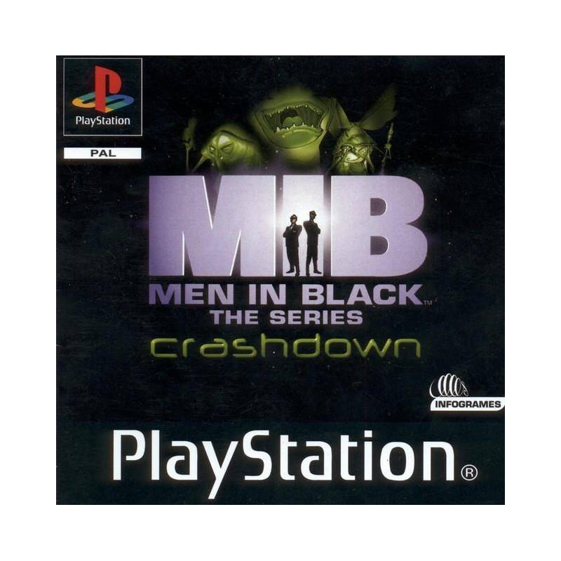 PSX MEN IN BLACK THE SERIES CRASHDOWN - Jeux PS1 au prix de 2,95€