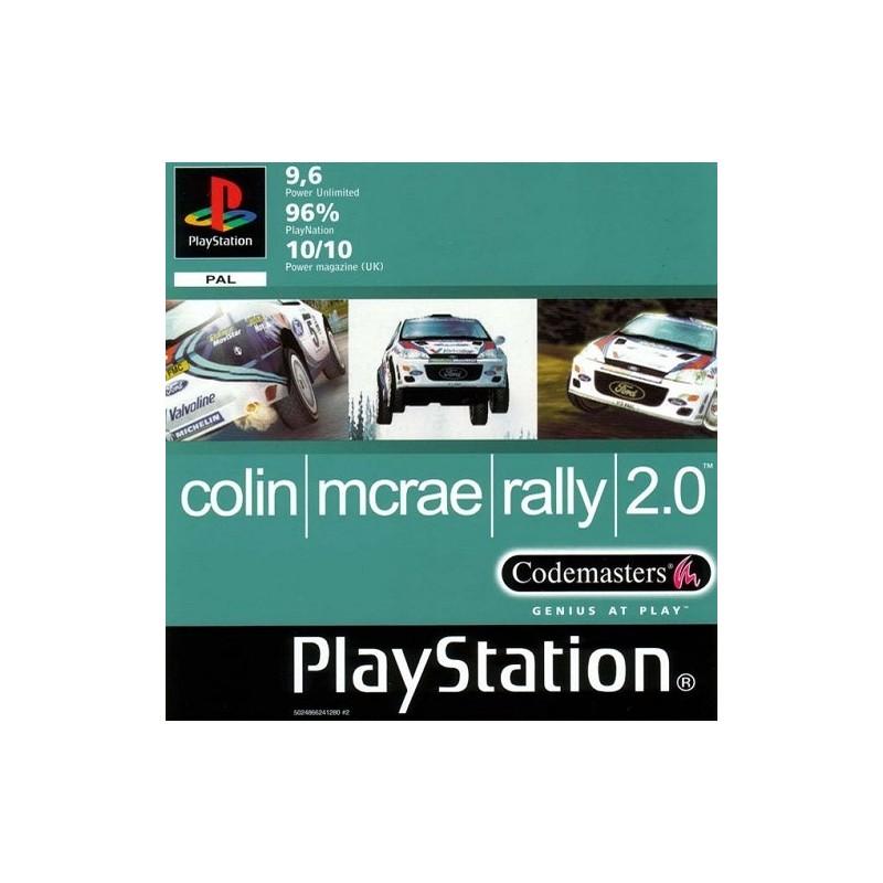 PSX COLIN MCRAE RALLY 2.0 - Jeux PS1 au prix de 3,95€