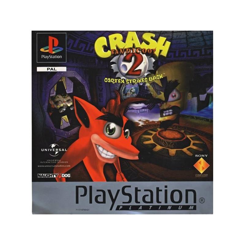PSX CRASH BANDICOOT 2 (PLATINUM) - Jeux PS1 au prix de 9,95€