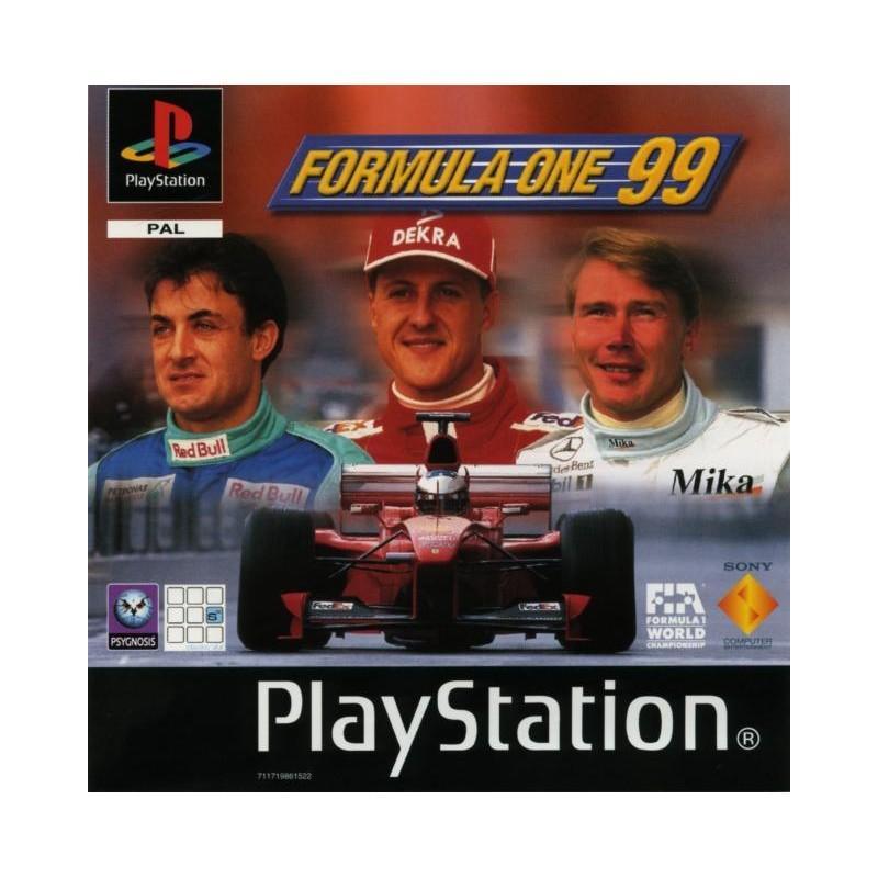 PSX FORMULA 1 99 - Jeux PS1 au prix de 2,95€