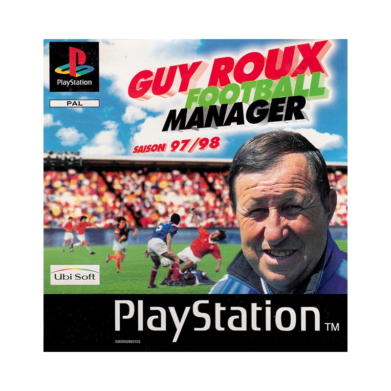 PSX GUY ROUX FOOTBALL MANAGER 9798 - Jeux PS1 au prix de 1,95 €