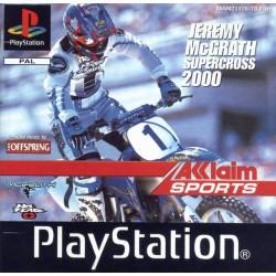 PSX JEREMY MCGRATH SUPERCROSS 2000 - Jeux PS1 au prix de 3,95€
