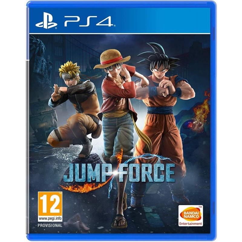 PS4 JUMP FORCE - Jeux PS4 au prix de 24,95€