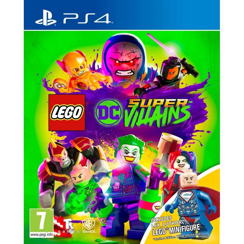 PS4 LEGO DC SUPER VILLAINS - Jeux PS4 au prix de 24,95€