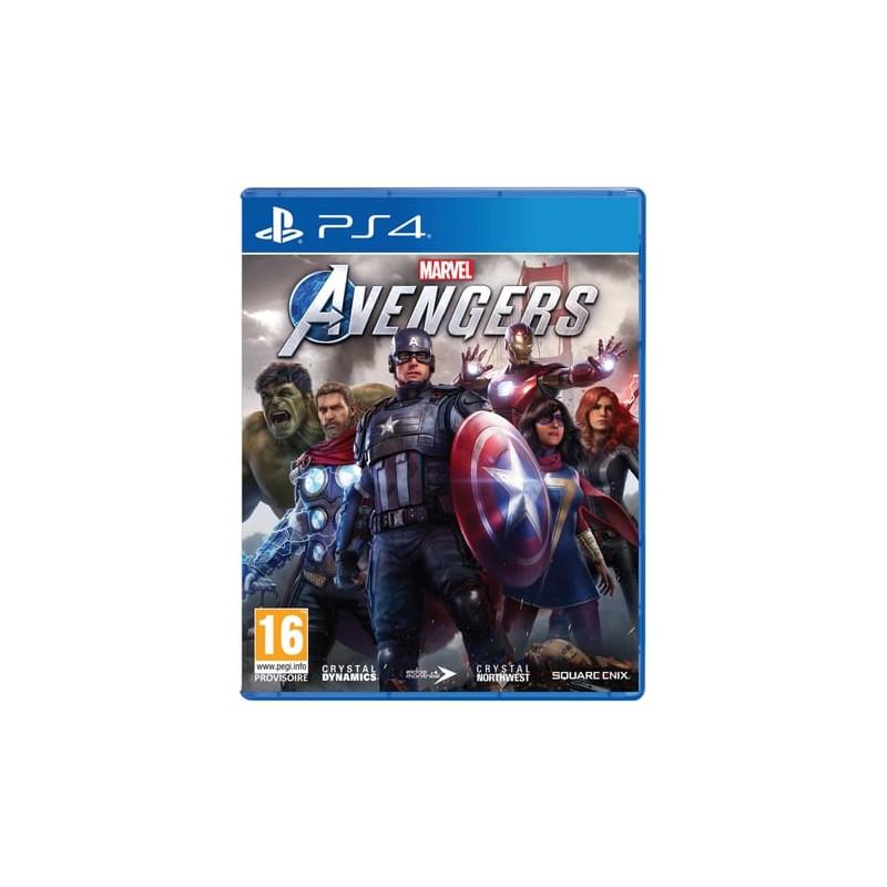 PS4 MARVEL AVENGERS - Jeux PS4 au prix de 49,95€