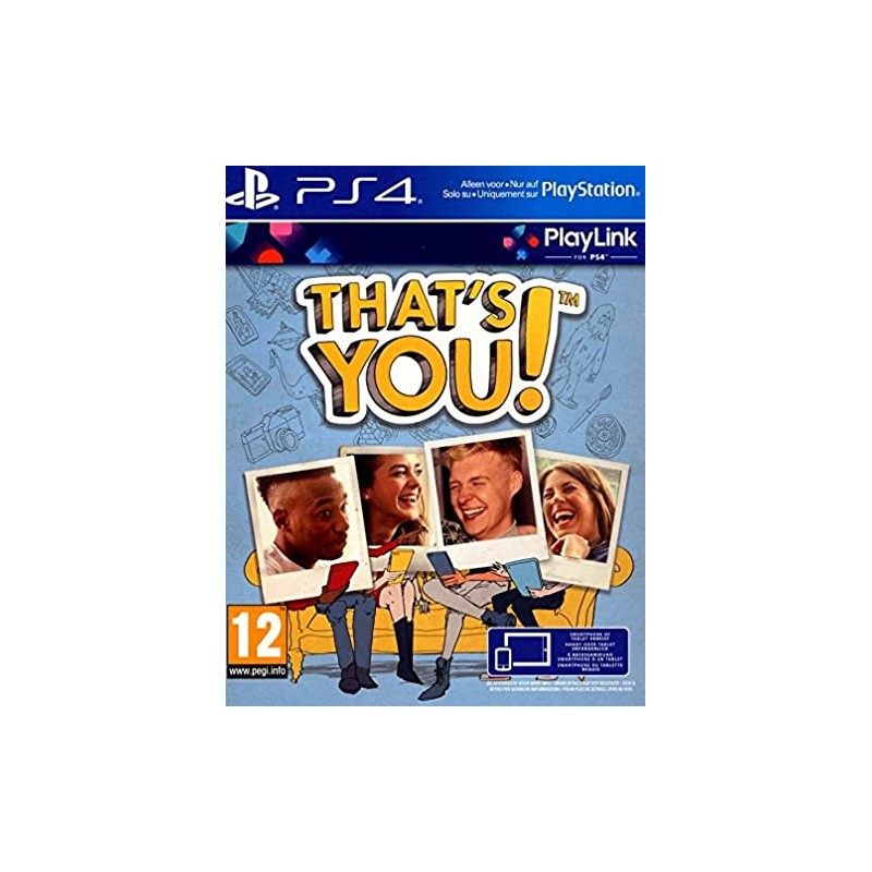 PS4 THAT S YOU OCC - Jeux PS4 au prix de 9,95 €