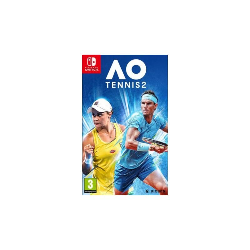 SWITCH AO TENNIS 2 OCC - Jeux Switch au prix de 14,95€