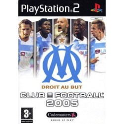 PS2 CLUB FOOTBALL 2005 OM - Jeux PS2 au prix de 1,95€