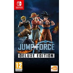 SWITCH JUMP FORCE DELUXE EDITION - Jeux Switch au prix de 49,95 €