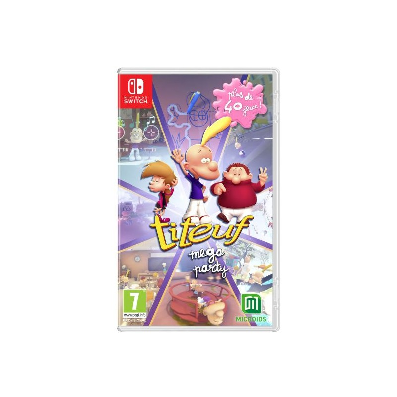 SWITCH TITEUF MEGA PARTY OCC - Jeux Switch au prix de 14,95 €