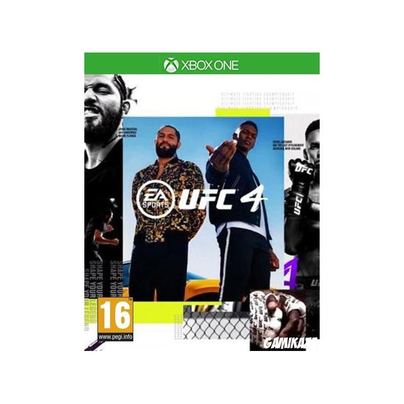 XONE UFC 4 OCC - Jeux Xbox One au prix de 39,95€