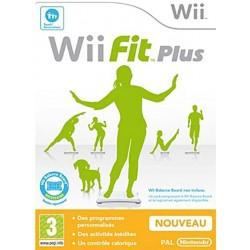 WII WII FIT PLUS - Jeux Wii au prix de 7,95€