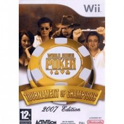 WII WORLD SERIES POKER TOURNAMENT OF CHAMPIONS - Jeux Wii au prix de 4,95€