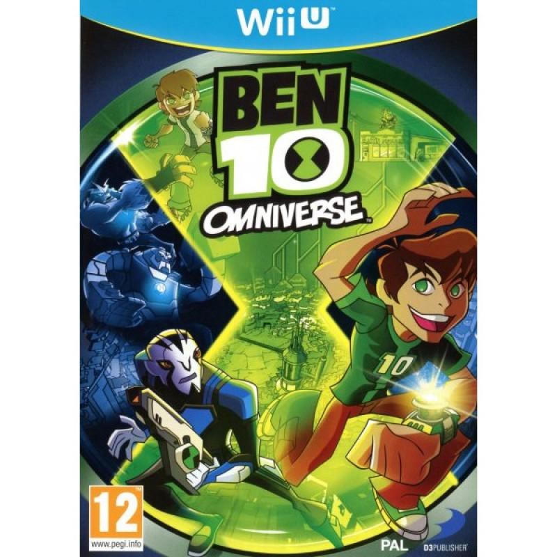 WIU BEN 10 OMNIVERSE - Jeux Wii U au prix de 29,95€