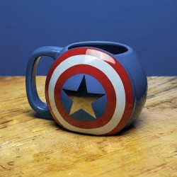 MUG BOUCLIER CAPTAIN AMERICA - Mugs au prix de 14,95€