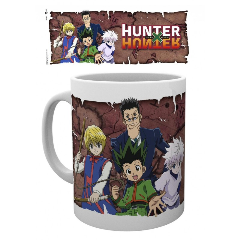 MUG HUNTER X HUNTER GROUPE 320ML - Mugs au prix de 9,95€