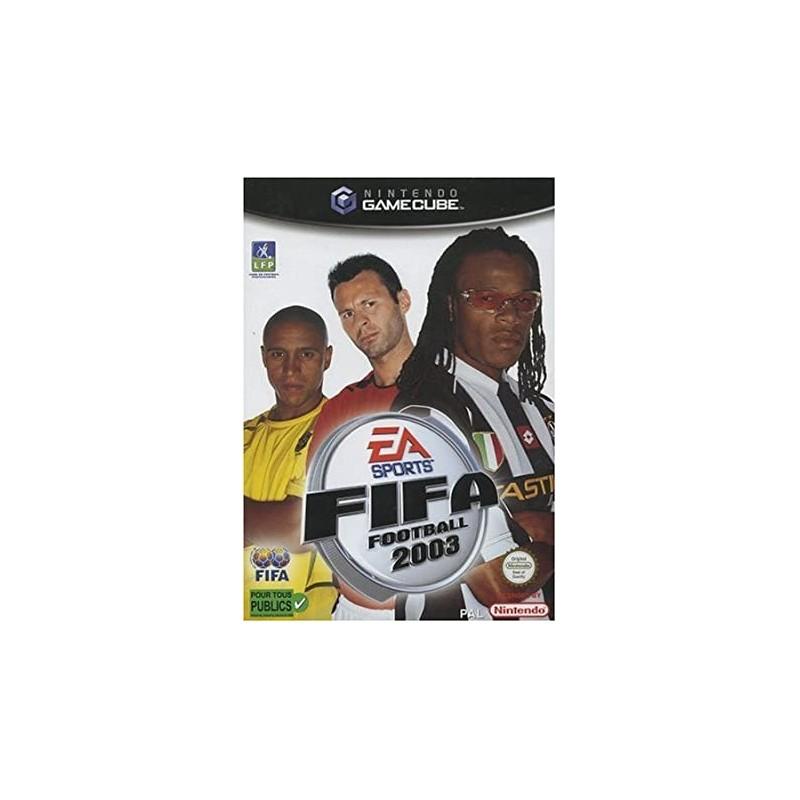 GC FIFA 2003 (CHOIX DES JOUEURS) - Jeux GameCube au prix de 0,95€