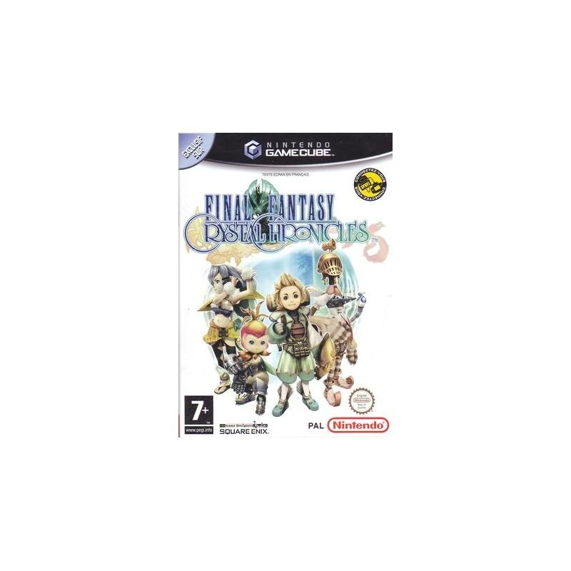 GC FINAL FANTASY CRYSTAL CHRONICLES - Jeux GameCube au prix de 14,95€